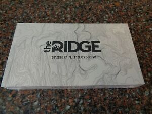 The Ridge Topographic Wallet #511 (Sealed, New) Narrows Cash Strap w Money Clip