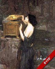 PAINTING MYTH MYTHOLOGY ART REAL CANVAS PRINT