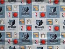 MEMPHIS GRIZZLIES NBA LICENSED QUILTING COTTON FABRIC FQ