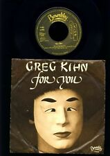 Greg Kihn - For You - Mood Mood Number - 7 Inch Vinyl Single - HOLLAND