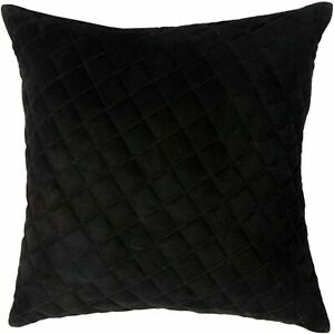 100% Lambskin Suede Diamond Leather Pillow Cover Decorative Throw Covers