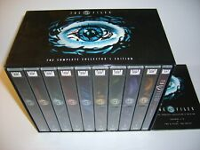 THE X FILES COMPLETE SERIES 1-9 + THE MOVIE ON 61 DISCS AS NEW.