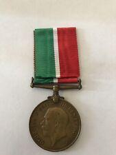 BRITISH WWI MERCANTILE MARINE WAR MEDAL 1914-1918