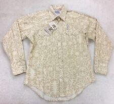 Rockmount Ranch Wear Diamond Snap Western Button Shirt USA Men's Small New