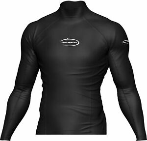 MIRAGE Heatshield Long Sleeve Rash Shirt Rashie Top Adult Paddling Scuba Diving