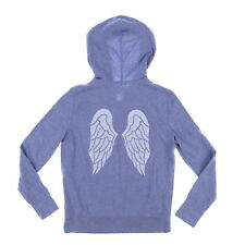 Victoria s Secret Angel Wings Bling Sequin Full Zip Hoodie Large V20 2b5edd4e7