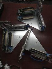 LOT OF 3 Dell Optiplex 760 Genuine Dual PCI Riser Card G5459 w/ Cage M615D
