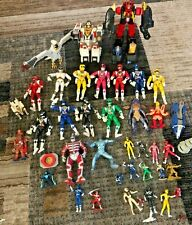 Huge lot of Bandai POWER RANGERS Action Figures, Weapons & Accessories Megazord