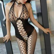 fe68a022f6 Fishnet Body Stockings Sleepwear Adult Bodysuit Women s Lingerie Babydoll