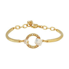 Swarovski Womens Gold Bangle Bracelet 992677