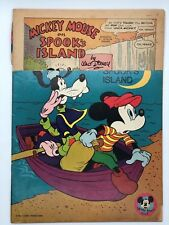 MICKEY MOUSE 103 1965 GOLD KEY SPOOKS ISLAND SILVER AGE 12c