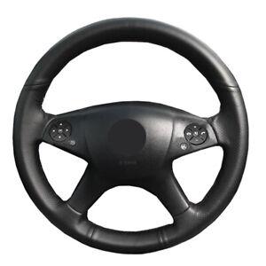 DIY Car Steering Wheel Cover For Mercedes Benz W204 C-Class 2007-2010 C280 C230