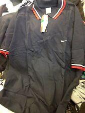 Nike Tennis Camicie In Blu Scuro A £ 10 in X/L con finiture rosso/bianco in 42/44 pollici