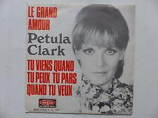 PETULA CLARK Le grand amour V 45 1805