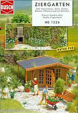 Busch 1226 Jardín ornamental, kit construcción, H0