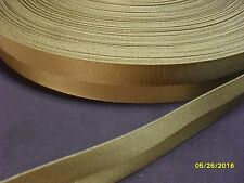 1 1/4 inch 25 feet Military COYOTE  tan treated nylon  webbing strapping