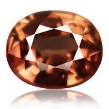 1.40ct flawless Natural earth mined extremely rare orange peach unheated zircon