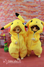 Lovely Yellow Pajamas Animal Outfit for BJD Doll 1/6 YOSD  Clothes ALB1