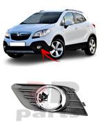 Pour Opel Mokka 12-16 Avant Pare-Choc Foglight Grille Avec Chrome Gauche
