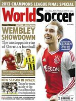 World Soccer Magazine Wembley Showdown German Showdown Christian Eriksen Brazil