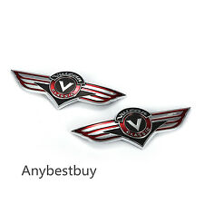 Replace Fuel Oil Gas Tank Emblem Badge Decal Sticker for Kawasaki Vulcan Classic