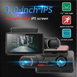 1080P Car DVR Front and Inside Camera Video Dual Lens Dash Cam Recorder G-sensor