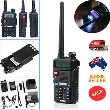 Walkie Talkie BAOFENG Dual Band UHF/VHF Ham Radio 136-174/400-520Mhz & Earpiece