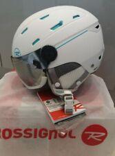 Rossignol Allspeed Visor Impacts White Matte helmet ski snowboard Size L 56-58cm