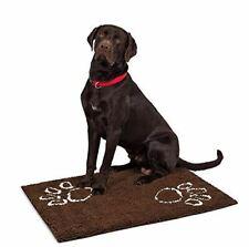 "Internet's Best Chenille Dog Doormat - 35 x 25"" - Absorbent Surface - Non-Skid B"