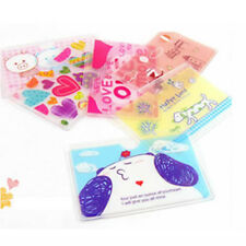 Brand New 2slots Korean cartoon cards cover holder case