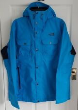 North Face RRP£180 Arrano Jacket Hyper Sky Blue Navy Extra Large Mens XL Dryvent
