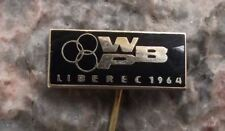 1964 PBW BPW WBP International Bicycle Race Liberec Mountain Cycle Pin Badge