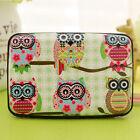 New Business ID Credit Card Wallet Holder Owl Pattern Pocket Case Box Favored