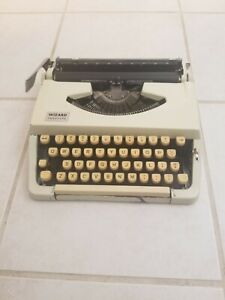 Vintage Brother Wizard Truetype Portable  Manual Typewriter