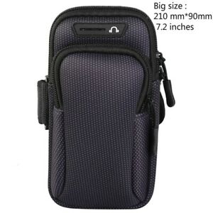 """Armband Cover Sport Gym Jogging Cycling Running Waterproof Fit 7.2"""" Phone Case"""