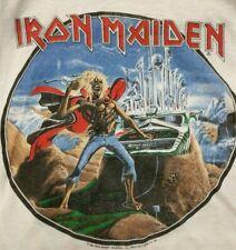Iron Maiden Vintage 1986 Phantom Of The Opera Original T-Shirt Rare!