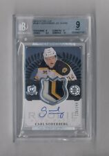 CARL SODERBERG 2013-14 THE CUP AUTO PATCH RC #136/249 BRUINS BGS 9 10