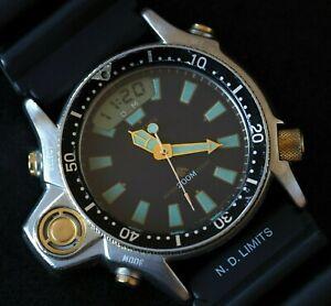 Citizen C023 Promaster Aqualand Depth Sensor SCUBA Diver's  100% Original!