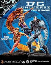 Knight Models DC Universe BNIB Teen Titans Set (MV) DCUN019