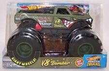 2020 Hot Wheels Monster Trucks 1:24 V8 BOMBER Diecast Monster Truck NIB