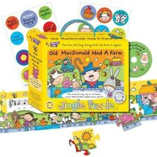 Music For Kids: Jingle Puzzle - Old MacDonald Had A Farm Books About Music/Music