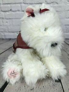 "2001 Lola VS Victoria's Secret Terrier Stuffed Plush Animal Dog Soft 11"" GUND"
