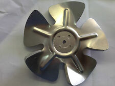 CONDENSER FAN MOTOR  BLADE METAL ANTI CLOCK WISE  TWO SIZES 150MM & 175MM