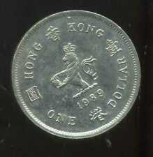 HONG KONG  1 dollar 1989