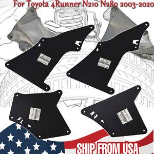 Splash Shield for Toyota 4Runner Fender Liner Apron Seal Mud Flaps Flares 03-20
