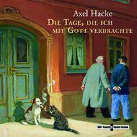AXEL HACKE - DIE TAGE,DIE ICH MIT GOTT VERBRACHTE  2 CD NEU