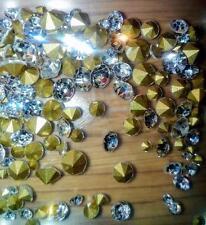 120 diamantes de imitación de cristal vidrio punto de vuelta piedras simuladas Diamond Jewellery