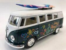 VOLKSWAGEN BUS 62 SURFBOARDS 1:32 KT.5060.DFS Green