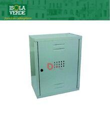 CASSETTA PER CONTATORE 40LX50HX24P GAS IN LAMIERA VERNICIATA BIANCA ART,206268