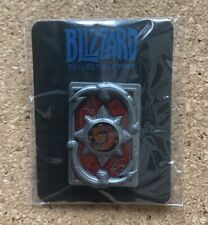 Blizzard Hearthstone HCT 2018 Thril of Victory Card back pin limited edition!
